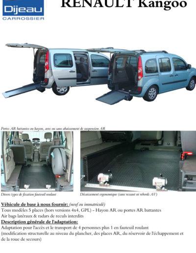 Renault Kangoo adaptation Dijeau