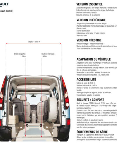 Renault Kangoo adaptation Renault Tech